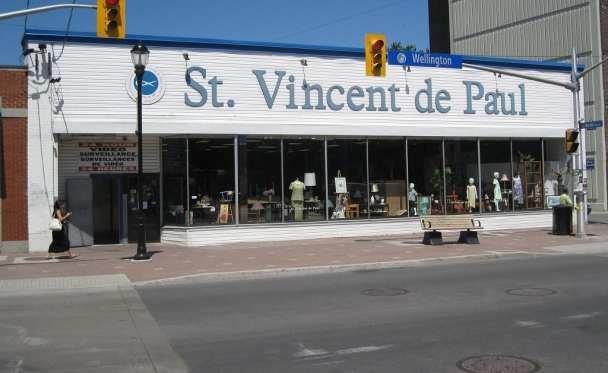 SVDP Ontario store