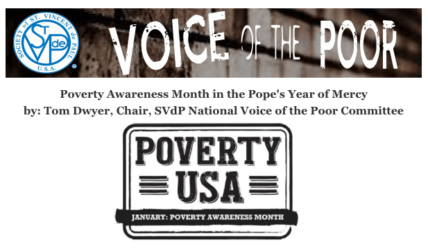 Poverty Awareness Month in the Year of Mercy
