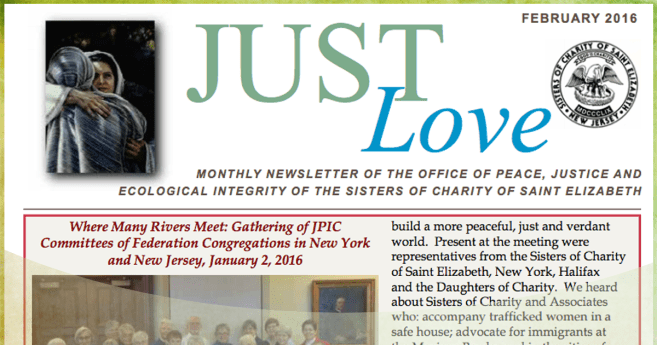 Just Love – Sisters of Charity of Saint Elizabeth