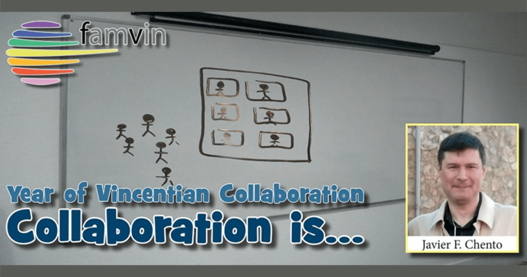 Collaboration is… to look forward always