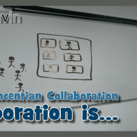 Collaboration is... taking up as my own common challenges