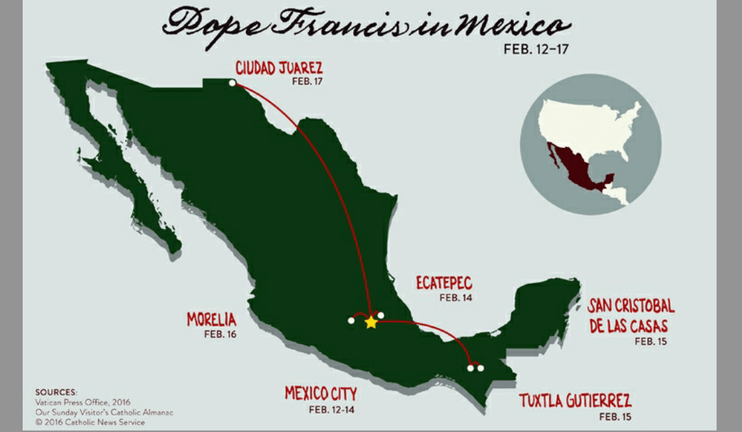 A Vincentian challenged by Pope's visit to Mexico