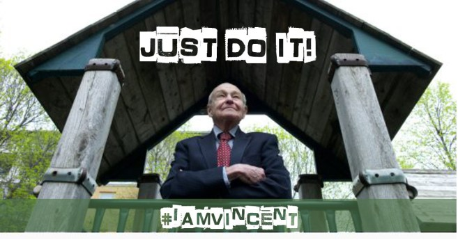 Nicholas Volk • Find a need. Ask what you can do to help. And do it. #IamVincent