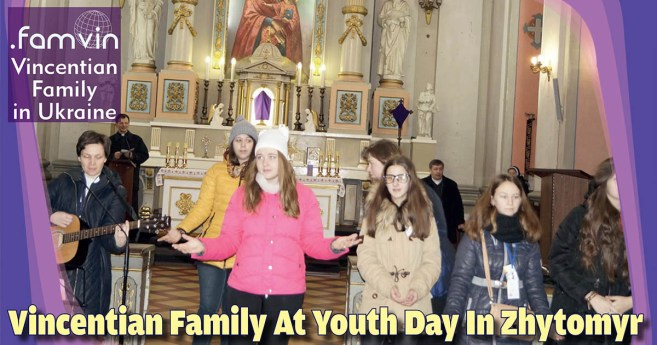Vincentian Family At Youth Day In Zhytomyr