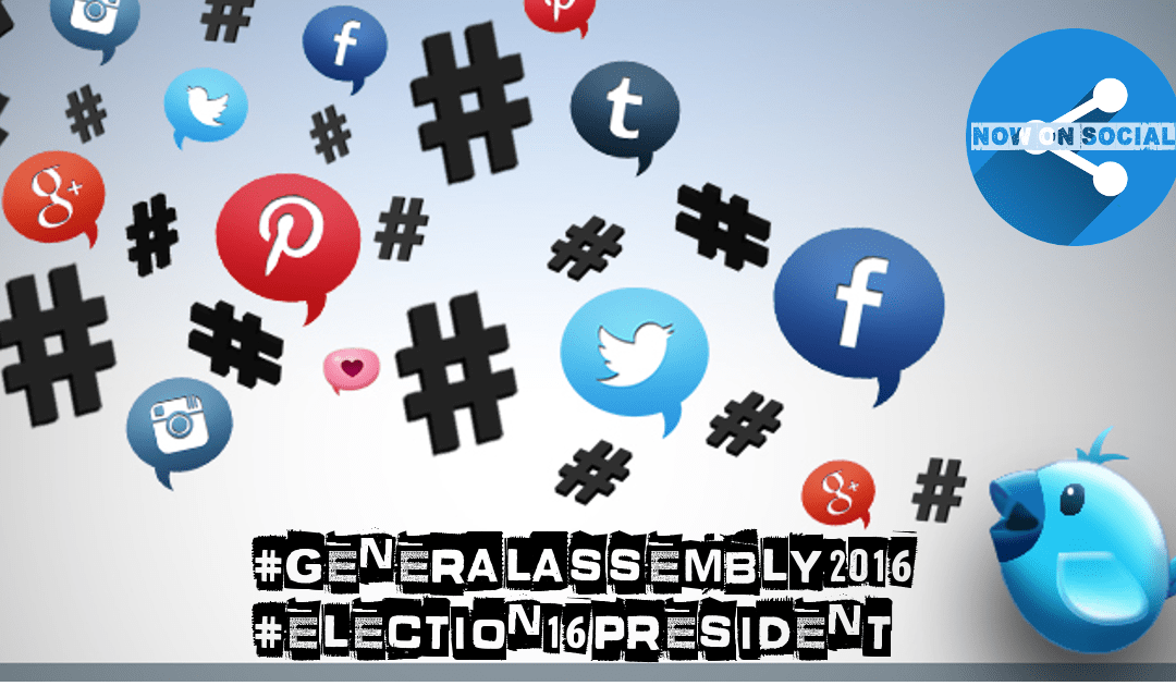 Follow SSVP Presidential Elections on Twitter #GeneralAssembly2016 #Election16President