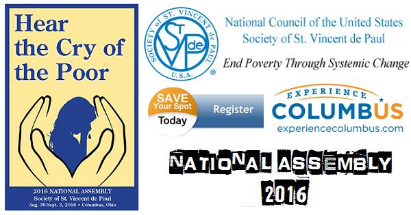 St. Vincent de Paul USA National Assembly 2016