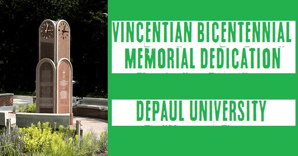 Vincentian Bicentennial Memorial Dedication