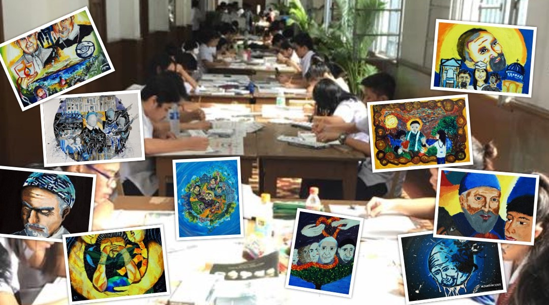 "Adamson Students ""Leave a Mark"": New Vincentian Art #IamVincent"