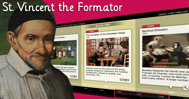 St. Vincent, and All Vincentians, As Formators
