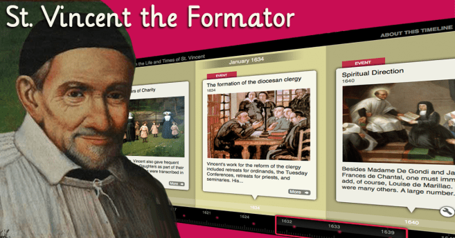 Formation in The Life And Writings of St. Vincent
