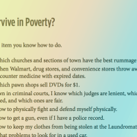 Could You Survive in Poverty - 18 Quick Questions