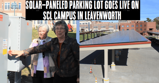 New Solar-Paneled Parking Lot in Leavenworth