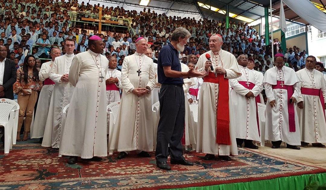 Cardinal Pietro Parolin visits Akamasoa