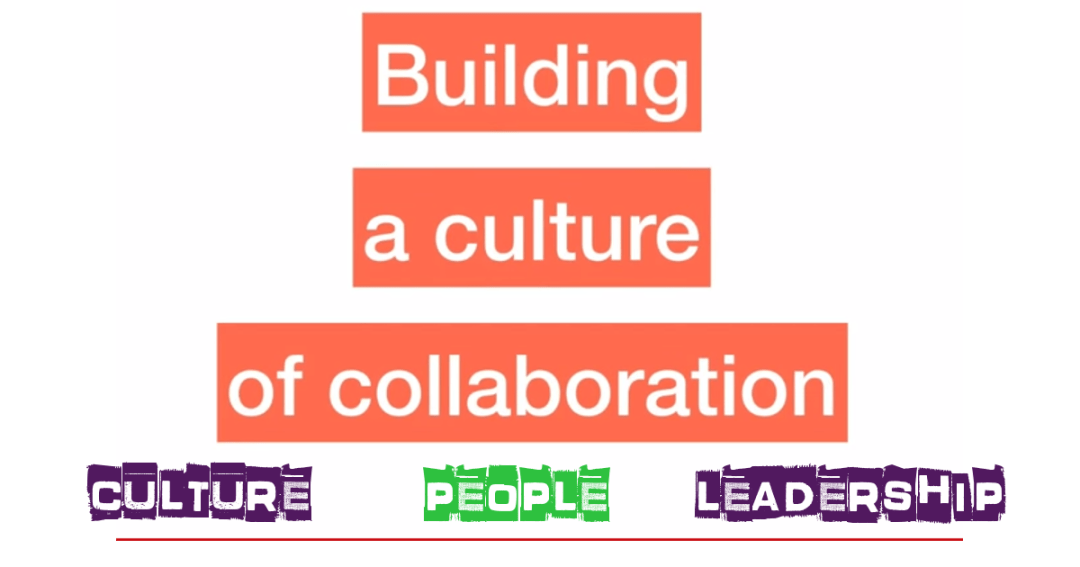 Collaboration: it's the people
