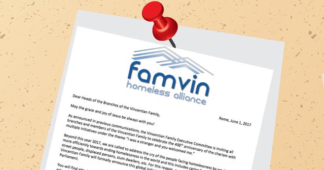 Bulletin: FamVin Homeless Alliance
