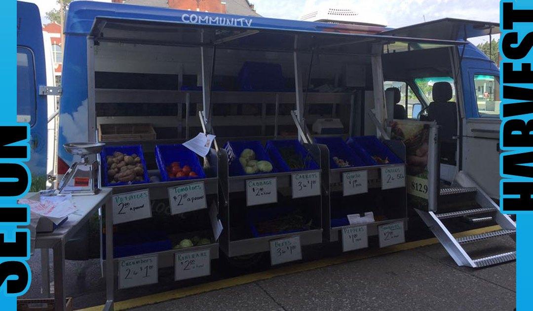 Seton Harvest Vegetable Van Makes Produce More Accessible