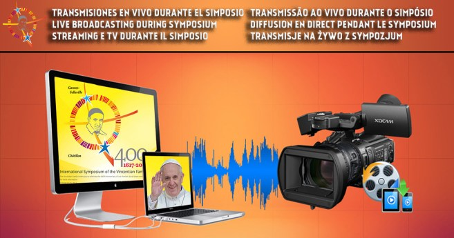 Live broadcasting during Symposium, Oct 14 and 15