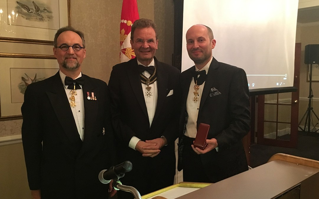 Niagara University Professor Awarded by Order of Malta for Work with the Homeless in Toronto