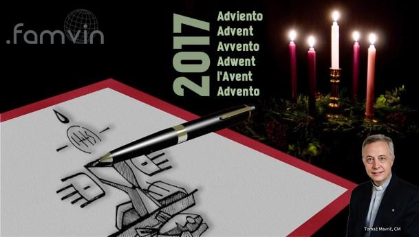 Advent Letter 2017 to the Vincentian Family, by Fr. Tomaž Mavrič, CM
