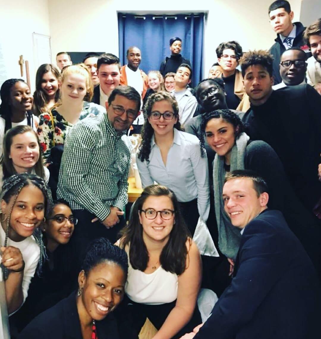 St. John's students at U. N.