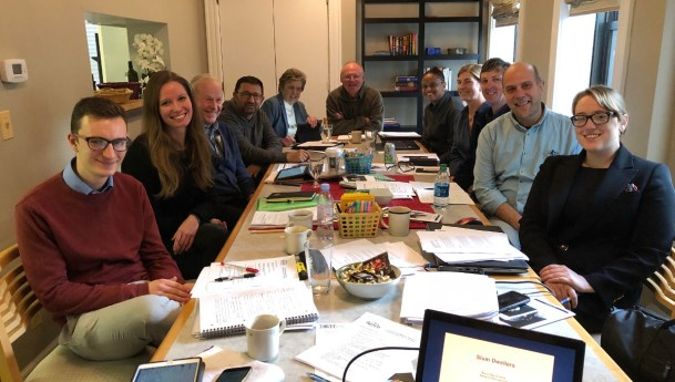 Inaugural Famvin Homeless Alliance Commission Meeting