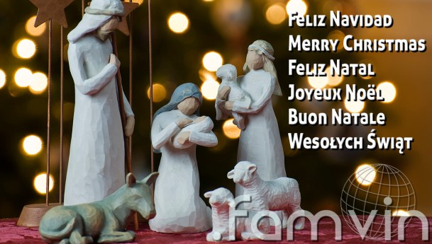 Blessed and Merry Christmas from the FAMVIN Team