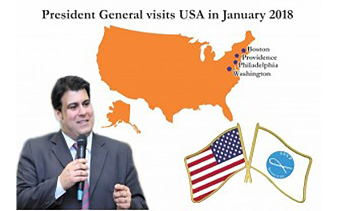 SSVP President General visits United States of America this January