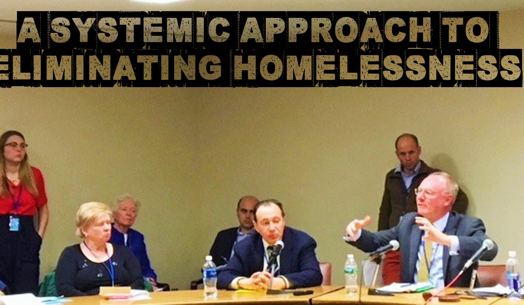 A Systemic Approach to Eliminating Homelessness