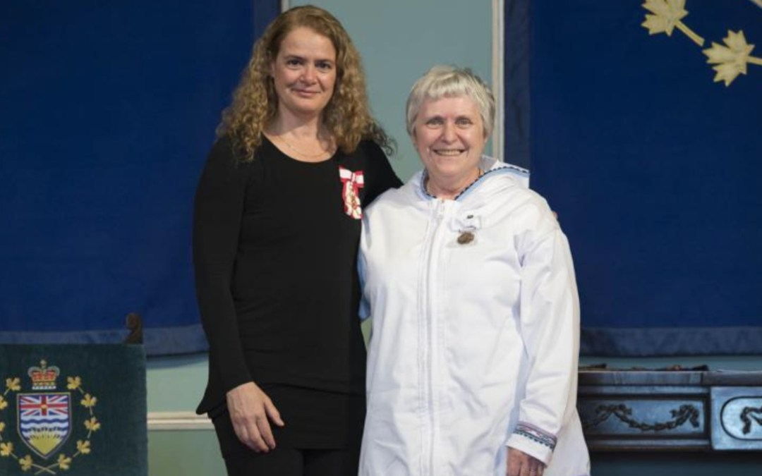 Canadian Sister of Charity Receives National Honor