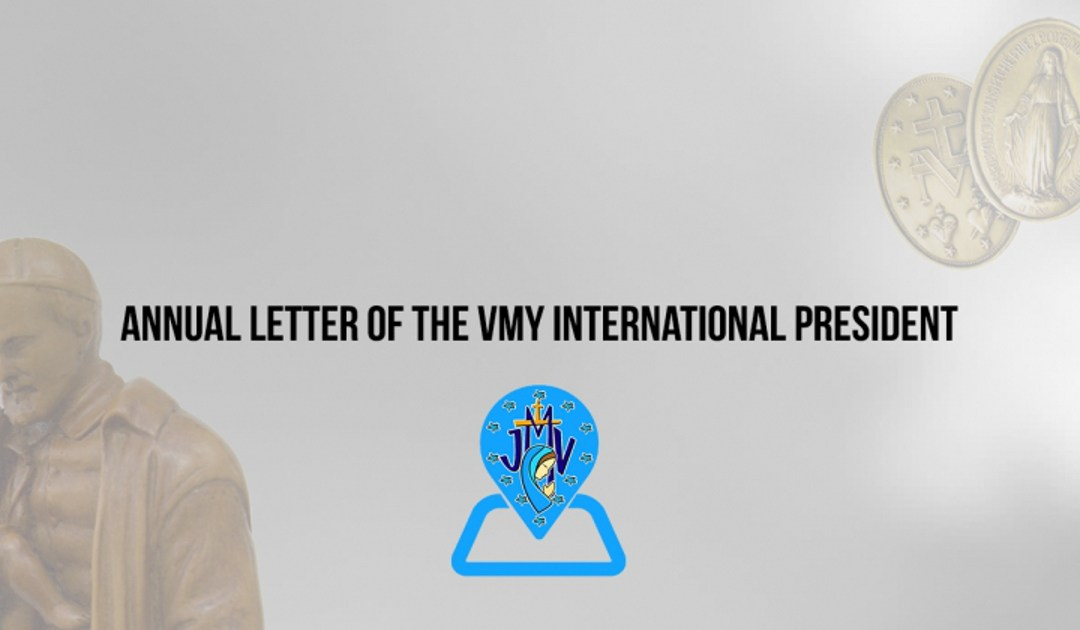 Annual Letter – VMY International President