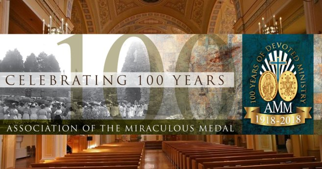 100th Anniversary of the Association of the Miraculous Medal in Perryville