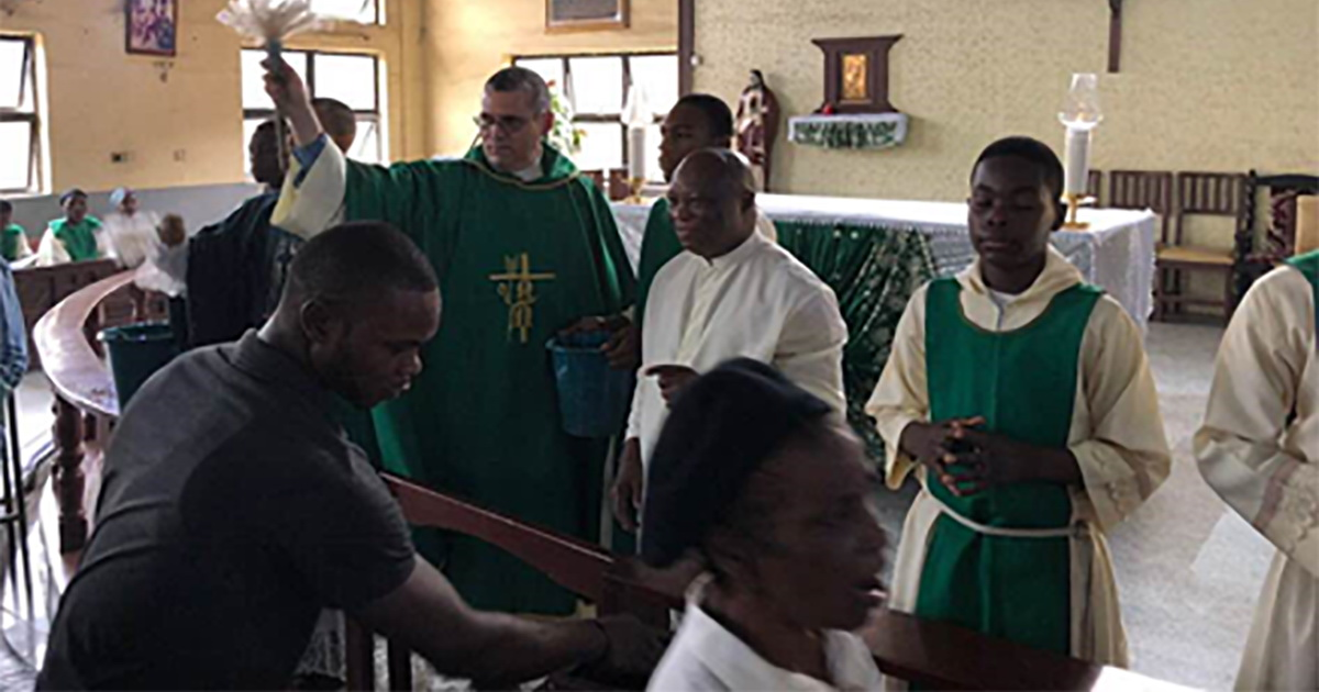 Fr. Flavio visited the Vincentian Family in Nigeria
