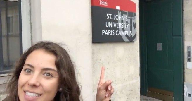 Tour Vincentian Paris Through the Eyes of a St. John's University Student
