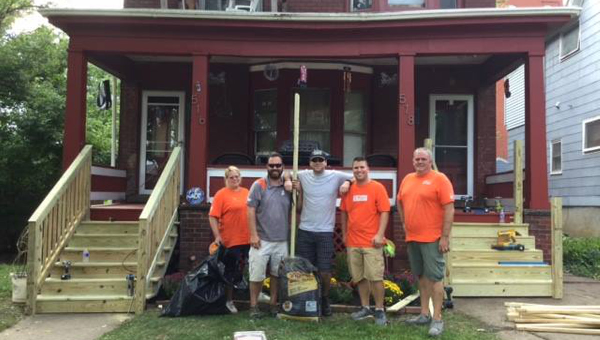 Niagara University Secures Home Depot Grant to Upgrade Niagara Falls Residences