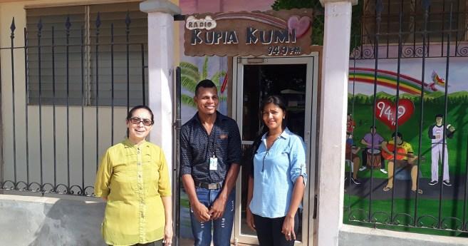 "La Moskitia (Honduras): Catholic Radio ""Kupia Kumi"" takes care of the Common House"