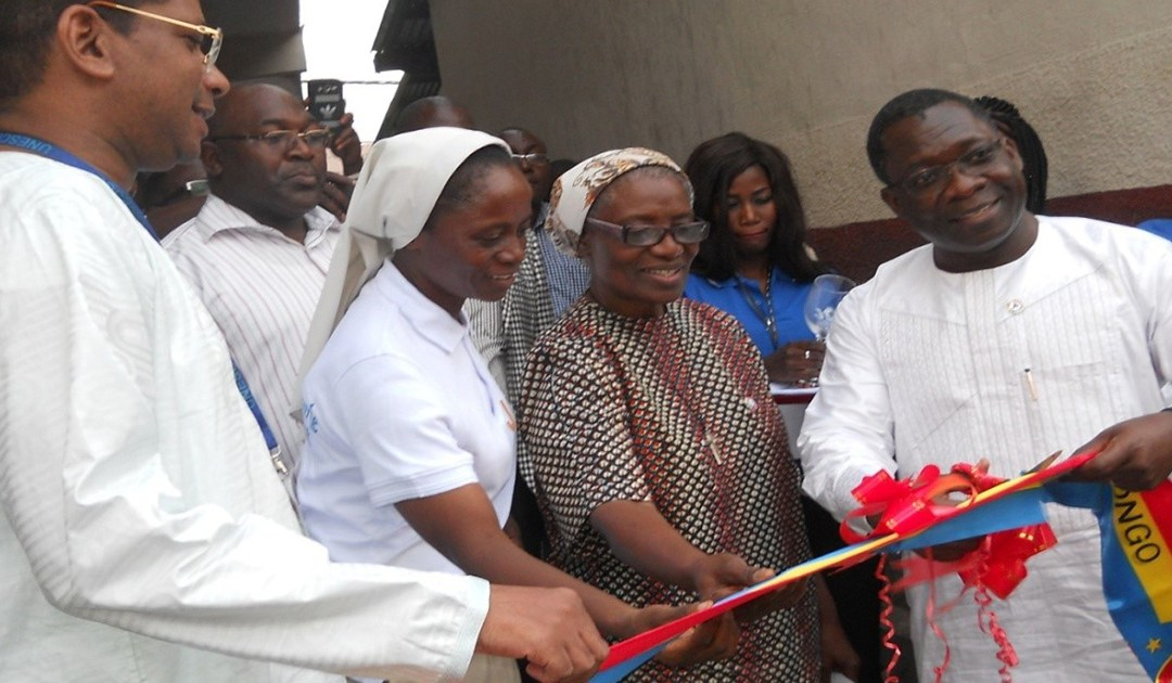 Opening of New Training Center for Young Mothers in Kinshasa