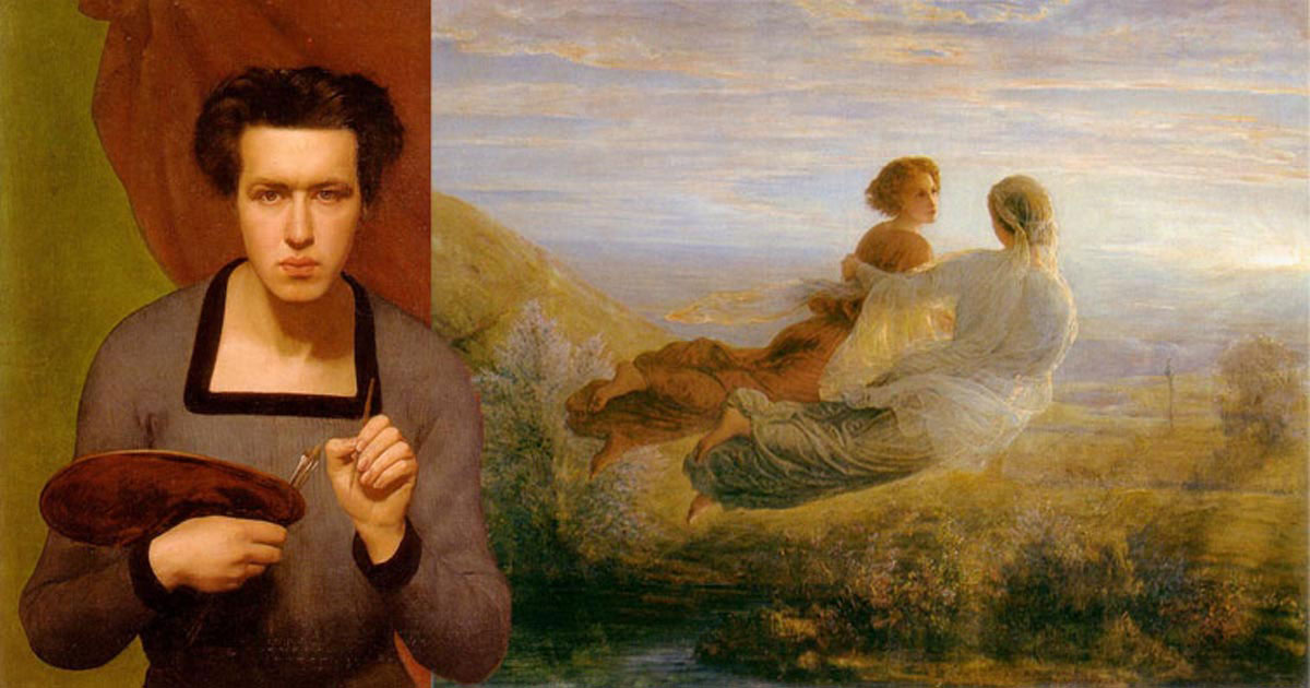 Artwork of Louis Janmot, friend of Frederic Ozanam