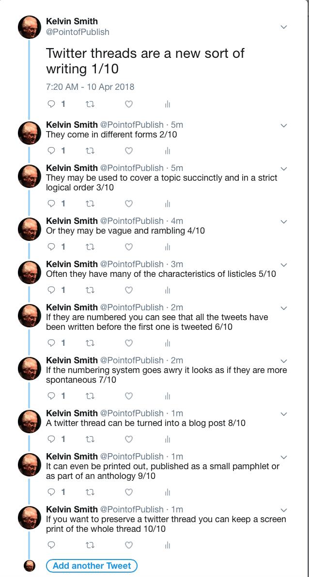 An Example of a Thread