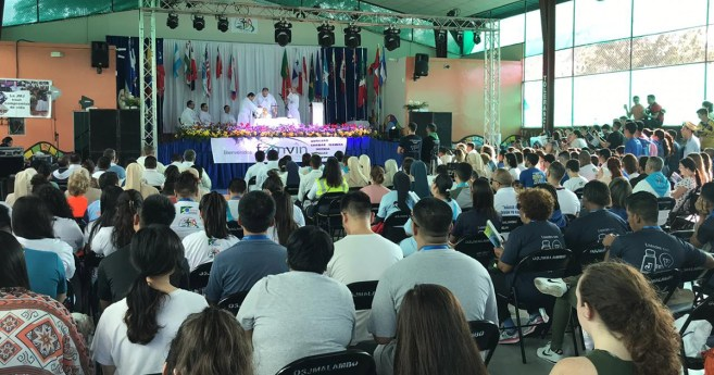 The Meeting of the Vincentian Youth in Panama, January 2019, Begins