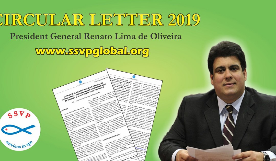 In his New Circular Letter, the International President of the SSVP Invites the Vincentians Worldwide to Seek Holiness