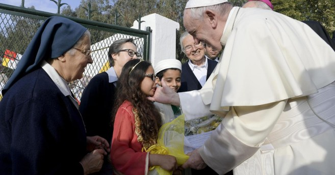 Pope in Morocco: Muslims in Temara Helped by Three Caring Daughters of Charity