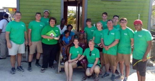 Volunteers Build a Home in Belize