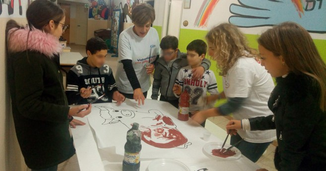 The Ozanam Center of Sant'Antimo Welcomes Many Young People in Difficulty