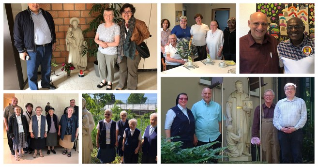 Visits to the Vincentian Family in France, Germany, and Belgium