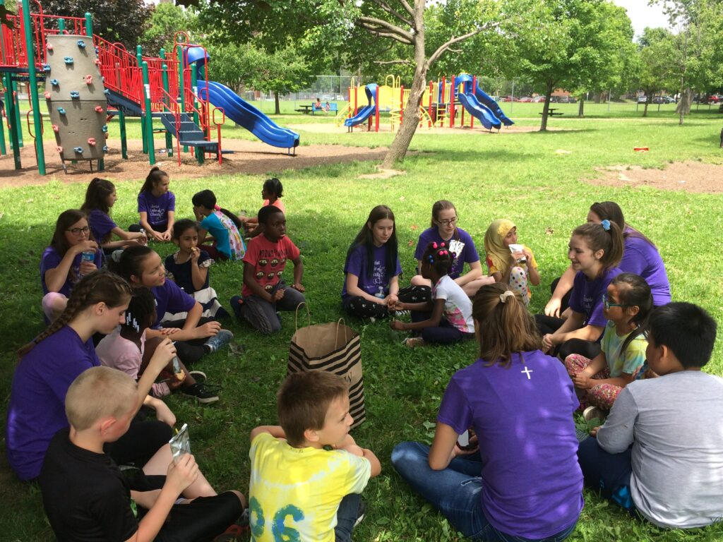 Buffalo Junior Ladies of Charity Meet Their Pen Pals
