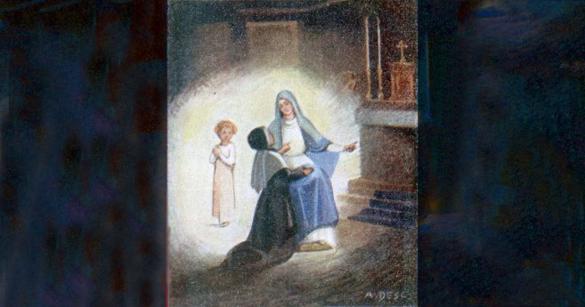 July 18-19, 1830: First Apparition of Blessed Virgin Mary to St. Catherine Labouré