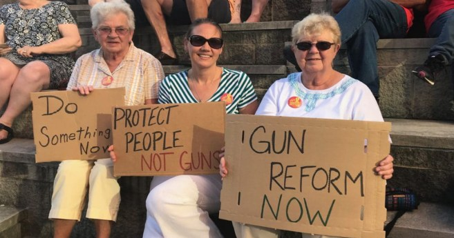 Bring It To The Floor – Rallying Against Gun Violence