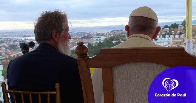 The Beautiful Prayer of Pope Francis for the Workers of Akamasoa