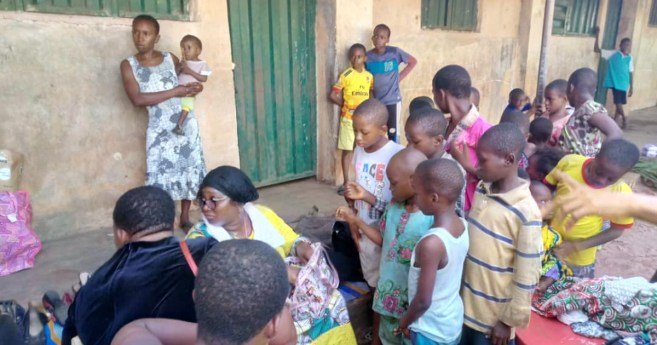 The AIC Provides Assistance in Umuagwu (Nigeria)
