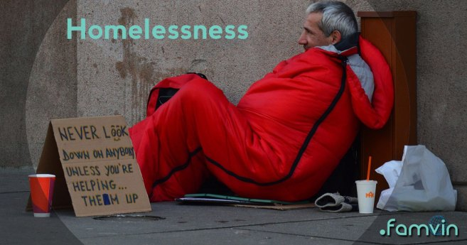 Vincentian Prayer Images: Vincent Did Something About Homelessness